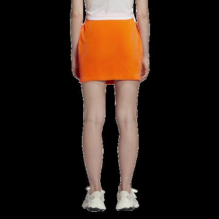 adidas x Jeremy Scott Women H53363 Skirt - Orange