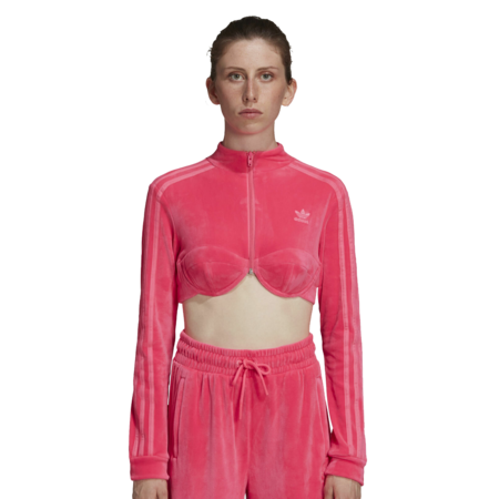 adidas x Jeremy Scott Women H50967 Track Top - Pink