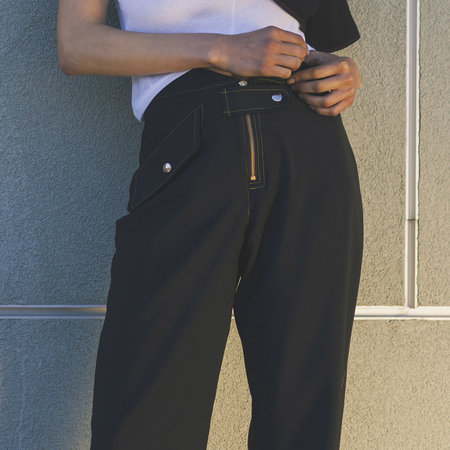 Vejas Cropped Flight Trouser