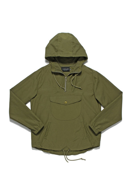 Outclass Water Repellent Anorak   Olive