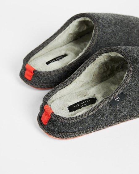 Ted Baker Simonn Slipper sandals - Dark Grey