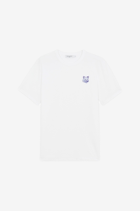Maison Kitsuné Cool-Tone Fox Head Patch T-Shirt - White