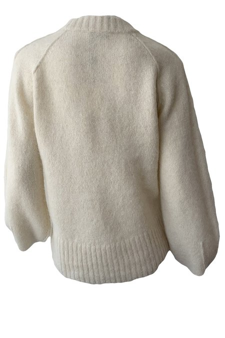 Rodebjer Francisca Sweater - Chalk White