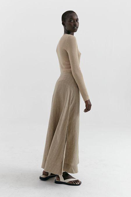 MARLE Emrys skirt - Brown