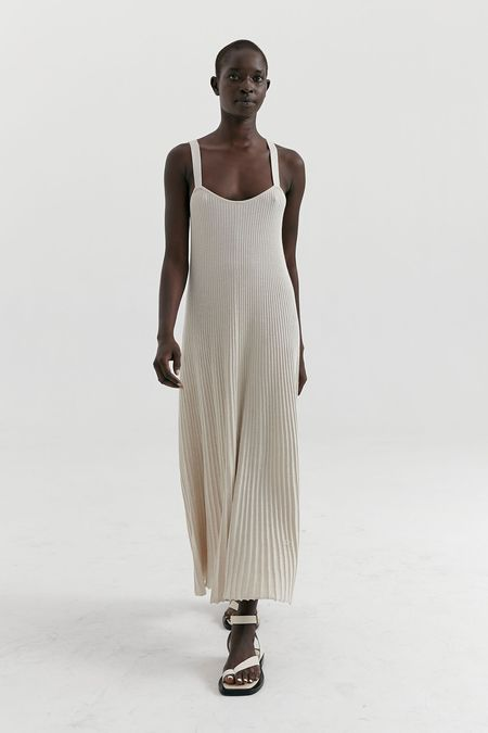 MARLE Jimmy dress - Oatmeal