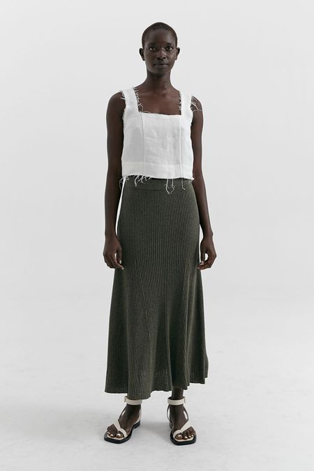 MARLE Lakey skirt - Clover