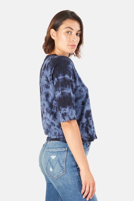 Mother Denim  Elbow Boxy Goodie T-Shirt - Night Sky