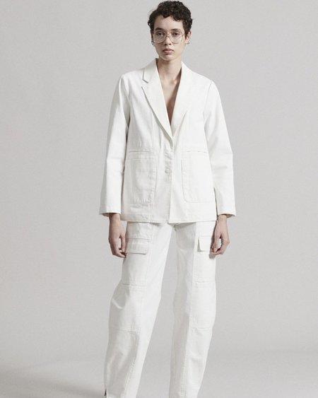 Rachel Comey Quinz Blazer - White Chino