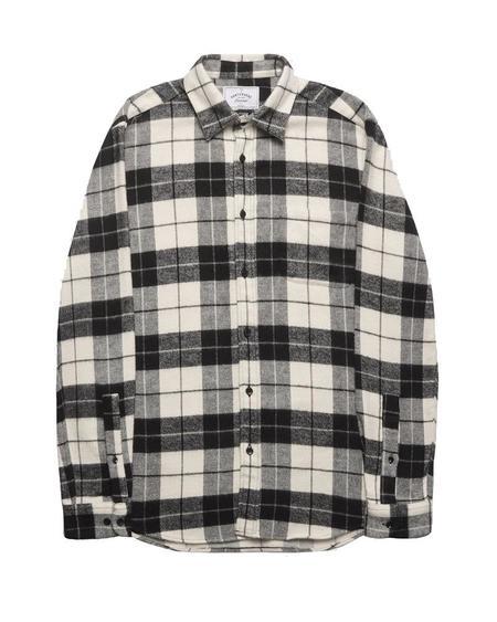 Portuguese Flannel COLORADO TOP - BLACK
