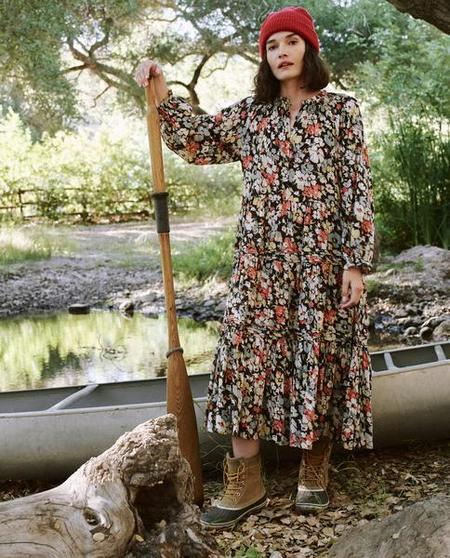 The Great. The Pasture Dress - Meadow Floral
