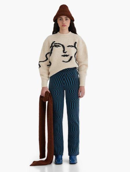 Unisex Paloma Wool Anita Knit Sweater - Ecru