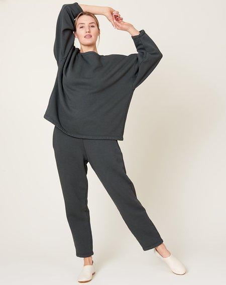 Black Crane Easy Pant - Asphalt