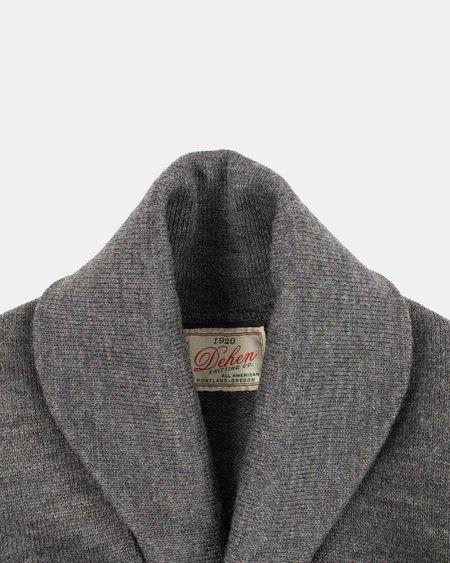 Dehen Shawl Sweater Coat - Charcoal