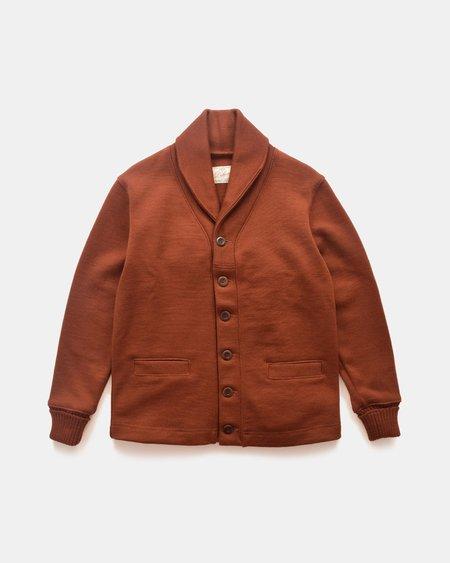 Dehen Shawl Sweater Coat - Tobacco