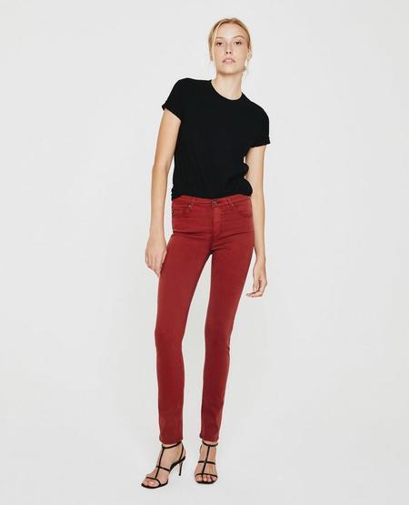 AG Jeans The Prima Jeans - Dark Hibiscus
