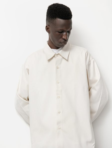 mfpen Exact Shirt - Natural White Twill