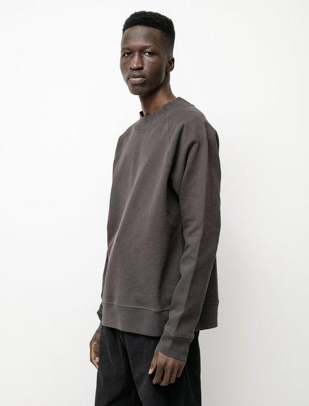 Margaret Howell MHL Dry Loopback Jersey Sweatshirt - Slate