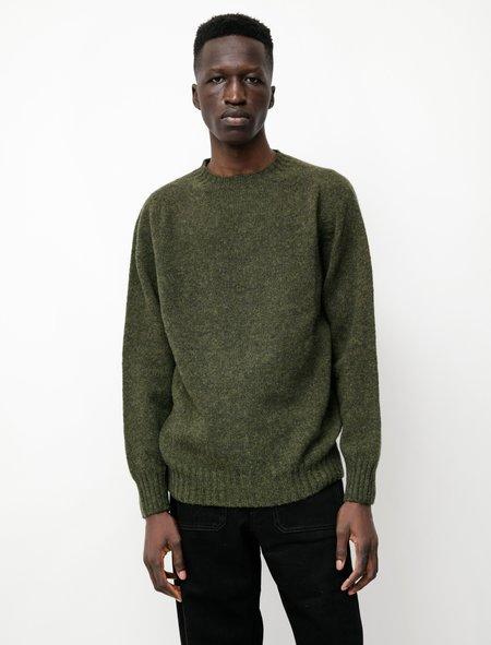 Neighbour Shetland Sweater - Pine