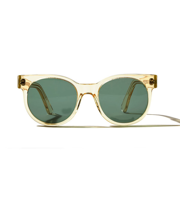 ZANZAN Avida Dollar Sunglasses in Champagne