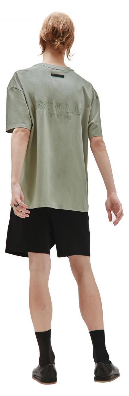 Fear of God Essentials Cotton T-shirt - Green