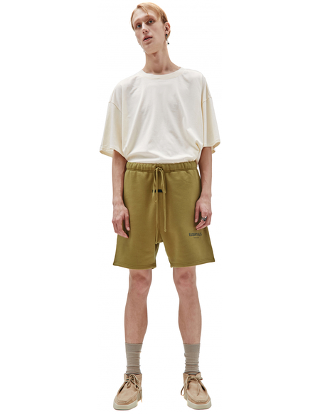 Fear of God Essentials Cotton Shorts - yellow