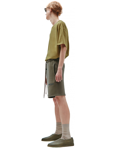 Fear of God Essentials Cotton Shorts - brown