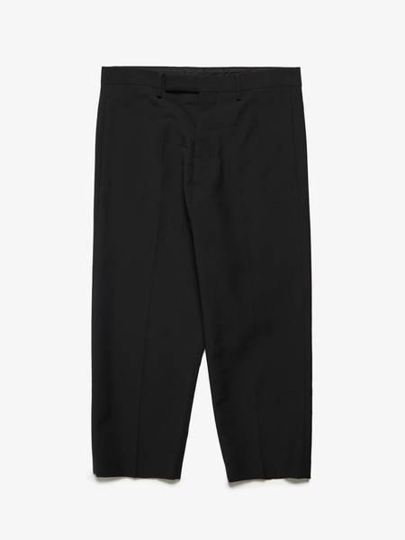 Rick Owens M FW17 Drop Crotch Wool Trousers