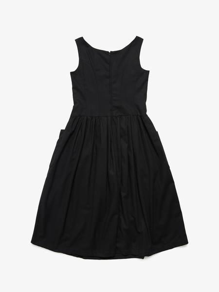 [Pre-Loved] Comme des Garcons Shirt Women Patch Pocket Detailed Dress
