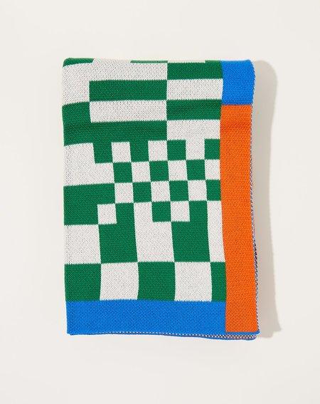 Dusen Dusen Knit Throw - Check