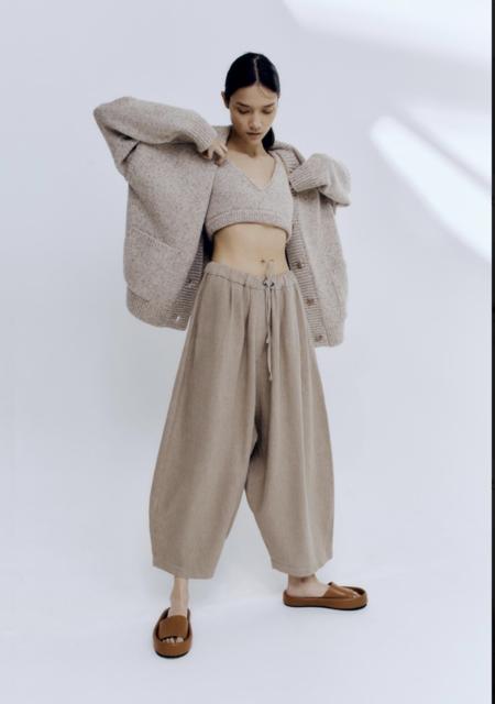 Monica Cordera Ramie Maxie Pants - Nomad