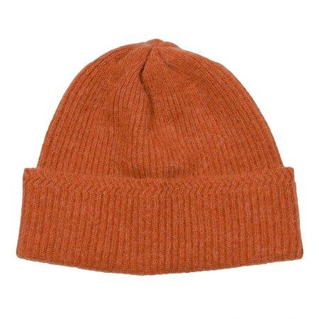 cableami  Baby Alpaca Beanie - Orange