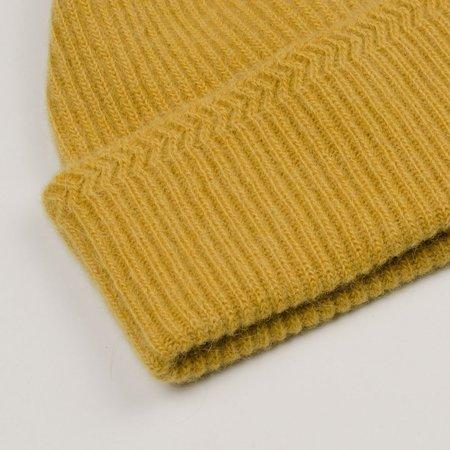 cableami  Baby Alpaca Beanie - Yellow