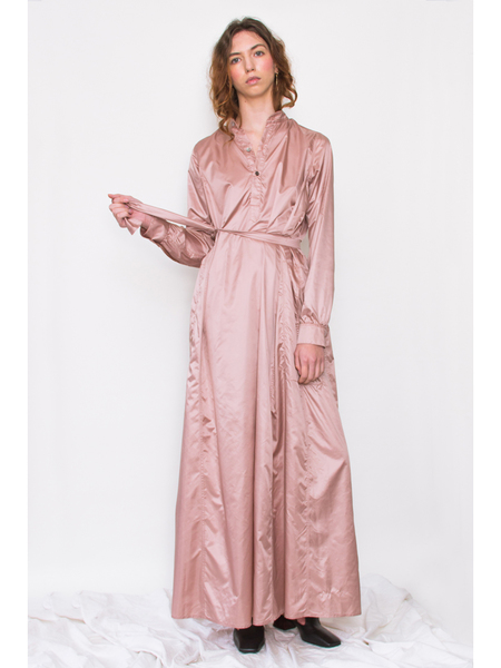 Dumitrascu Kaftan Dress, Rosewood