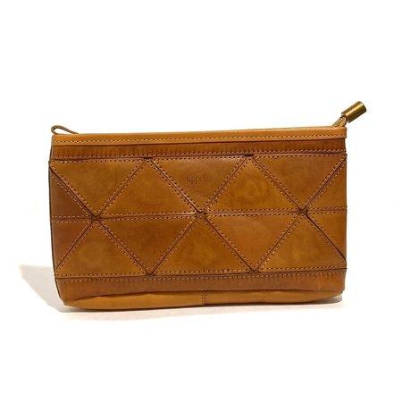 Uppdoo Origami Cross-Body/Clutch Bag - Tan
