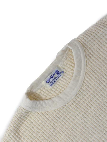 Velva Sheen Heavy Thermal Sweater - Natural