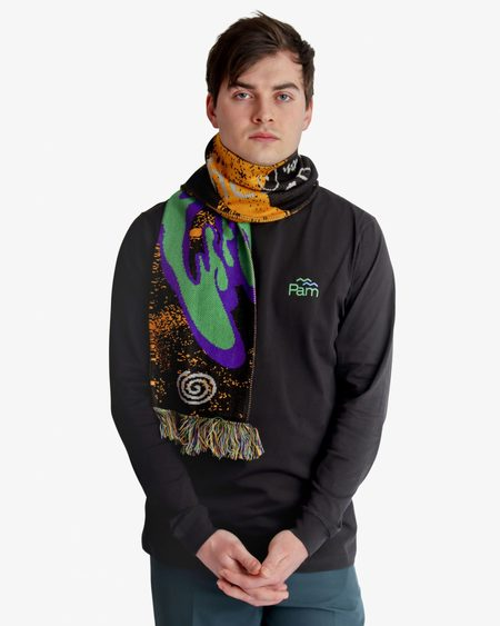 Perks and Mini Good Life Knit Scarf - MULTI