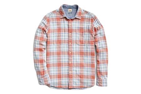 Faherty Brand Reversible Shirt - Foliage Plaid