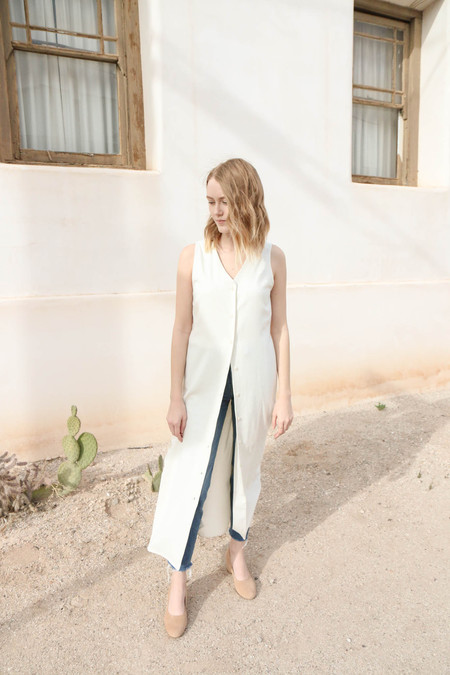 Ozma Sunrise Dress in Natural