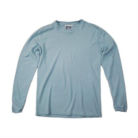 UNISEX Jungmaven Baja Long Sleeve Tee - Ether Blue