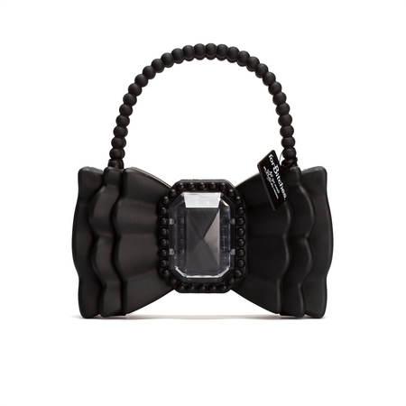 "FORBITCHES Bow 9"" bag - black"