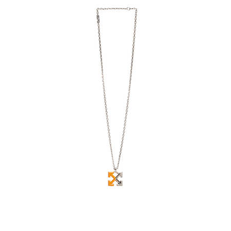 OFF-WHITE Arrow Necklace - silver