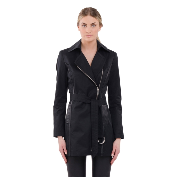 LAMARQUE Colette Belted Trench Coat