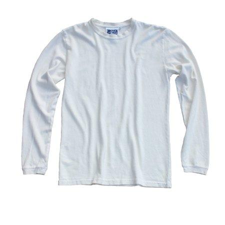 UNISEX Jungmaven Baja Long Sleeve Tee - Washed White