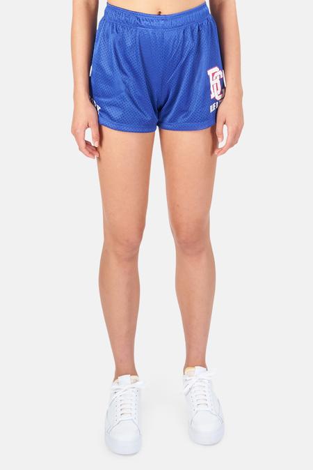 Blue&Cream New York Mesh Shorts - Blue/Red