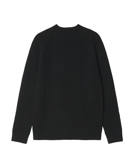 CARHARTT WIP Anglistic Sweater - Speckled Black