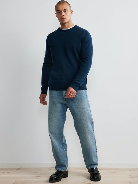 NN07 Edward Knit SWEATER - Ocean