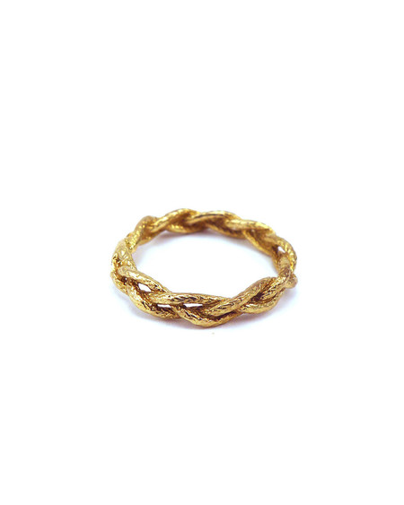 Cold Picnic Single Rope brass ring