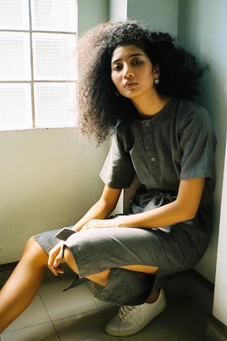 Seeker Studios Leisure Dress - Grey