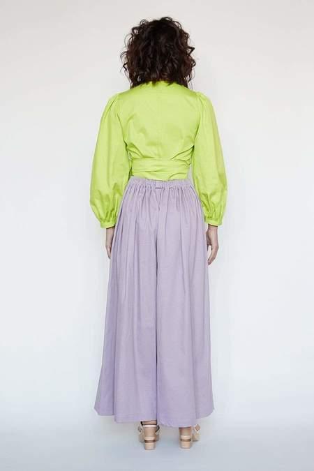 Christine Alcalay Gretchen Pant -  Lilac