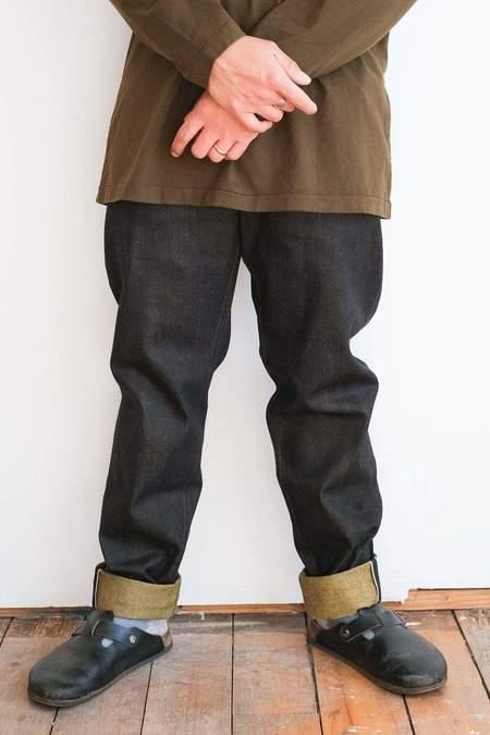 Naked & Famous Easy Guy Jeans - Turmeric Selvedge